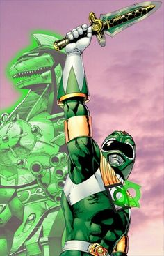 power ranger green  lantern
