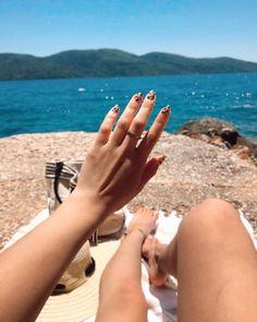 "Instagram'da Tuana Tuğçe Ayaz: ""💅"" Nail Art, Engagement Rings, Instagram, Summer, Photography, Jewelry, Enagement Rings, Wedding Rings, Summer Time"