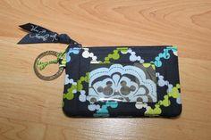 Vera Bradley ~ Zip ID Case ~ Where's Mickey ~ NEW ~  coin purse ~ Disney Parks #VeraBradley #Wallet