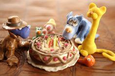 Birthday Candles, Birthday Cake, Canvas Art, Canvas Ideas, Pudding, Desserts, Food, Vaseline, Play Dough