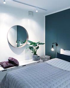 Interior Inspiration - Bright Idea - Home, Room, Furniture and Garden Design Ideas Room Interior, Home Interior Design, Studio Interior, Classic Interior, Home Bedroom, Bedroom Decor, Bedrooms, Scandinavian Interior, Bedroom Colors