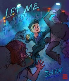 I'm loving Zayn's latest single, Let Me. And the music video? Thought a dramatic comic-book style… Zayn Malik, Comic Book Style, Comic Books, Icarus Fell, One Direction Art, Music Drawings, Im In Love, Music Videos, Fan Art