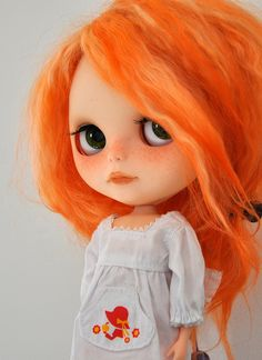 Blythe with adorable orange hair