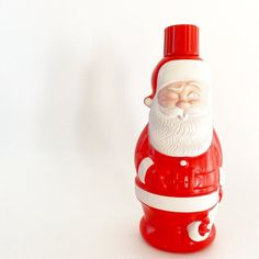 Kitschy Vintage Santa Soaky Bottle image 6