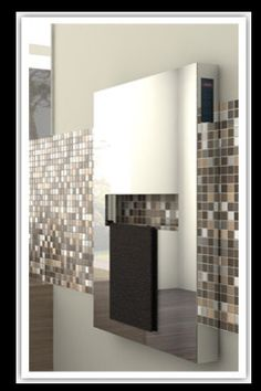 Amba Elory Towel Warmer  Visit Store »  Uploaded by Tom Borsellino  Warm towels and good looks-what's not to like.