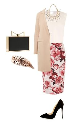 """""""Untitled #278"""" by elenekhurtsilava ❤ liked on Polyvore featuring Raey, Dorothy Perkins and CORO"""