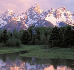 Tetons at Jackson Hole, Wyoming