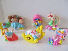 Little Snaps Baby Doll Figures by Silverlit - 13 Pieces-Vintage by CellarDeals on Etsy