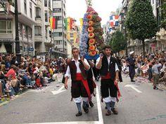 en un desfile España asturias oviedo