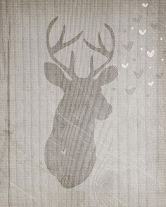 Young Love Buck YOU CHOOSE by vol25 on Etsy, $24.00