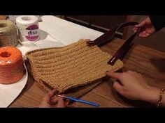 Tabata, Fashion Bags, Straw Bag, Diy And Crafts, Weaving, Reusable Tote Bags, Elsa, Make It Yourself, Purses