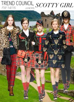 Key styles and themes FW 14/15 -SCOTTY GIRL