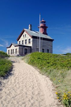 Block Island North Lighthouse, Rhode Island by nelights, via Flickr        #VisitRhodeIsland