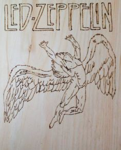 led zeppelin Led Zeppelin, Wood Crafts, Musicians, Home Decor, Homemade Home Decor, Woodworking Crafts, Music Artists, Decoration Home, Wood Creations