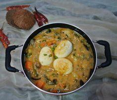 thai veg egg curry