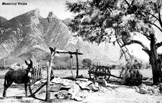 Cerro de la Silla en Monterrey Nuevo Leon Mexico ,,, tomada la foto desde un rancho en las faldas del cerro