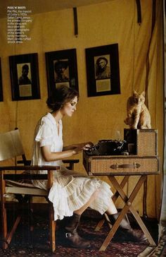 Feminist journalist in the early 1900s?