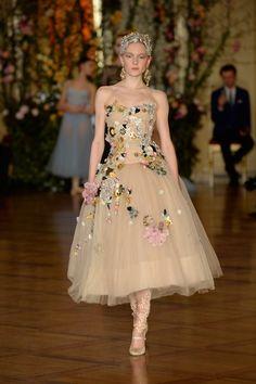 Dolce and Gabbana Alta Moda Spring 2015 show at Milan's Teatro Alla Scala