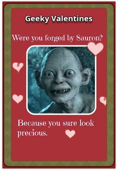 We're finally in February (the month of love) and Valentine's Day is around the corner! Herewith the NerdiPop top 30 Geeky Valentines Cards and sayings for Pop Culture, Fun Facts, Sci Fi, Geek Stuff, Valentines, Comics, Cards, Movie Posters, Geek Things