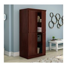 Lovely south Shore Morgan Storage Cabinet
