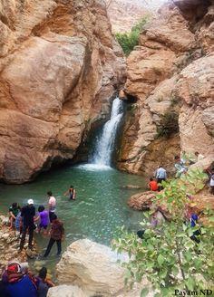 آبشار دربند شهرستان صحنه
