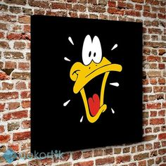 Daffy Duck Table # child_room_tables # young_room_tables – Children's room T … – ………. Disney Canvas Paintings, Disney Canvas Art, Simple Canvas Paintings, Easy Canvas Art, Small Canvas Art, Easy Canvas Painting, Mini Canvas Art, Easy Art, Trippy Painting