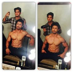 Getting ready for #zeecineawards #hot Vidyut Jammwal