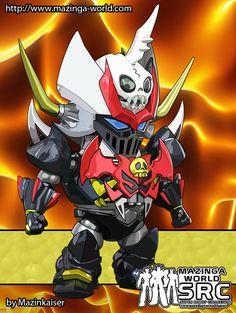 Mazinkaiser Skull SD Fan Art