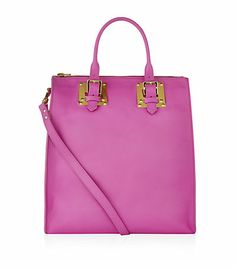 Sophie Hulme Soft Leather Buckle Tote | Harrods