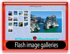 Flash image gallery-slideshow