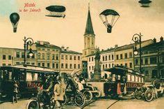 Frýdek-Místek na dobových fotografiích a pohlednicích