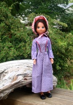 Star Spangled Pioneer Girl doll, in original outfit, Mattel 1976