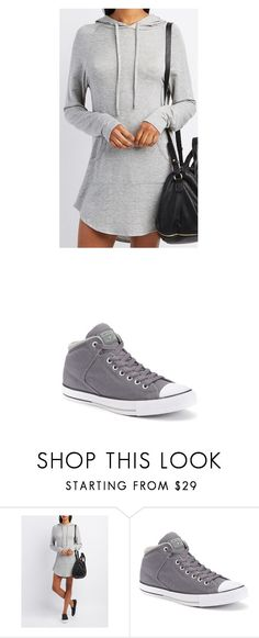 """Untitled #1209"" by laurie-egan on Polyvore featuring Charlotte Russe and Converse"