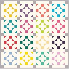 How To's Day: Hang Time Quilt by Happy Quilting Designs   Camelot Fabrics. Freshly Made