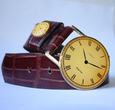 Ceinture horloge vintage de Emmanuel | Mlle Frivole