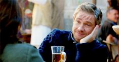 "rominatrix: "" ""Martin Freeman in Whiskey Tango Foxtrot's trailer "" """