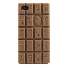 Carcasa Con Aspecto de Barra de Chocolate para el iPhone 4 y 4S - Colores Surtidos – EUR € 3.03