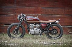 ϟ Hell Kustom ϟ: Honda CB550F By Smyth Innovations