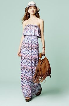 FELICITY & COCO Maxi Dress & Accessories  available at #Nordstrom
