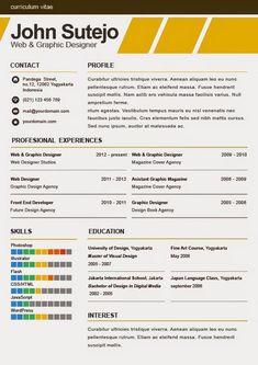 CV Template Oxford   CV   Pinterest   Cv template, Cover letter ...