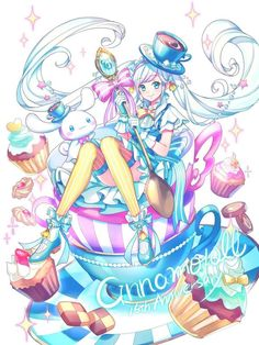 #Cinnamoroll #Sanrio #Kawaii #Dessin _zoff #Manga Art Kawaii, Manga Kawaii, Cute Animal Drawings Kawaii, Chica Anime Manga, Kawaii Anime Girl, Manga Girl, Anime Art Girl, Art Anime Fille, My Melody Sanrio