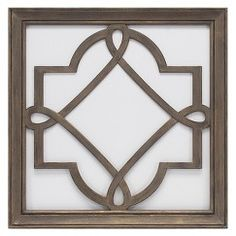 "Threshold™ Lattice Mirror - Silver (16x16"")"