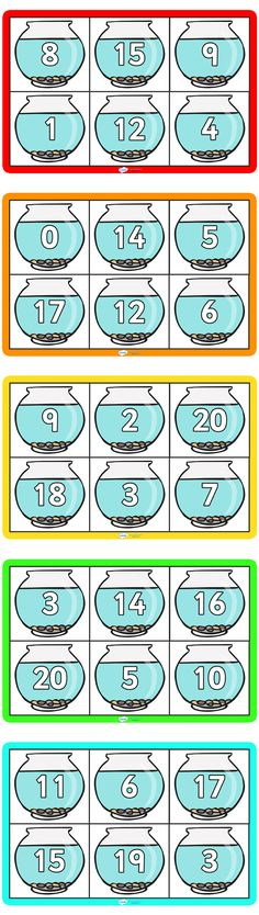 Twinkl Resources >> Number Bonds To 20 Bingo >> Classroom printables for Pre-School, Kindergarten, Primary School and beyond! number bonds, counting to 20, adding to 10, bingo, counting,