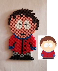 South Park - Clyde Donovan hama perler beads by Xeina-rose-of-death