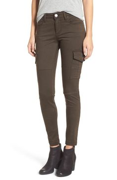 STS Blue Cargo Pocket Skinny Pants available at #Nordstrom