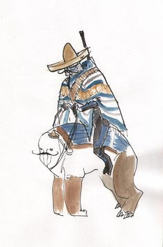 Garrus. Poncho. Sombrero. Riding an elcor. I have no explanation for this, but it made me laugh.