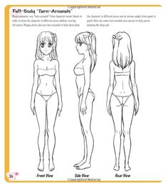 Manga Proportions Are Very Important And Are Very Strict However