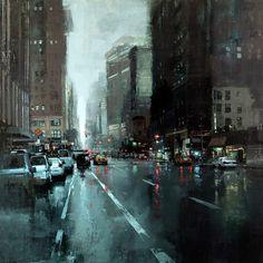 Cityscapes - Jeremy Mann - Artist