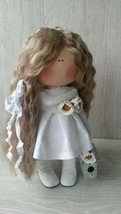 Куклы 2015 -2018год Holly Hobbie, Felt Dolls, Fabric Dolls, Needle Felting, Flower Girl Dresses, Textiles, Crochet, Mini, Cute