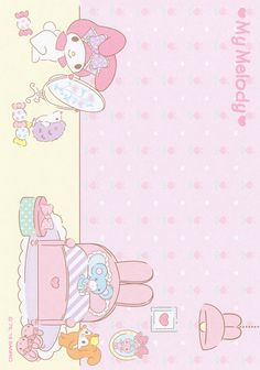 https://flic.kr/p/JJpfLz | Sanrio My Melody Memo (2015)